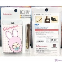 Monchhichi Chimutan Passcase Card Case with Strap and Lock 621801