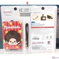Monchhichi Star Passcase Card Case with Strap and Lock 621849