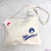 Monchhichi Sport 2020  W30 x H23cm 100% Cotton Hand Bag Blonde 700205