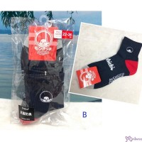 Sport Monchhichi Adult Socks 100% Cotton (Size 22-24cm) 700274