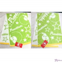 Sport Monchhichi 100% Cotton Beach Bath 100 x 34cm Big Towel Green ~ Made in Japan ~ 700342