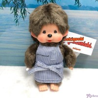 Monchhichi S Size 19cm Plush Cafe Boy ~ JAPAN Limited ~ 702190 ~ LAST ONE ~