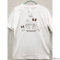 Monchhichi & Chimutan 100% Cotton Fashion Adult Tee White M Size 725020