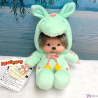 783625 JAPAN LIMITED ~ Rody x Monchhichi Sitting Green ~ NEW ~