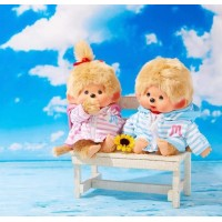 JAPAN Shop Limited SFDS Marin Border Parker Monchhichi M Size Boy & Girl  837403+837410