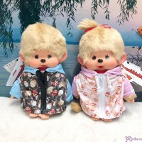 Japan SHOP LIMITED SFDS Parker Monchhichi M Size Boy & Girl (PAIR) 837434+837441