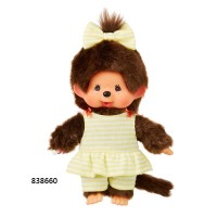 Monchhichi S Size Border Swim Wear Girl (Japan Limited) 838660