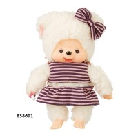 Monchhichi Friend S Size Border Swim Wear Sheep (Japan Limited) 838691~ PRE-ORDER ~
