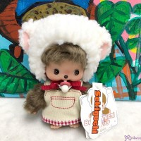 838806 Fluffy CHAMUS Monchhichi Bebichhichi Plush Sheep Girl (Limited Version) ~ LAST ONE  ~