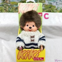 KiKi Monchhichi S Size Plush White Knit Fashion Boy 929030-C
