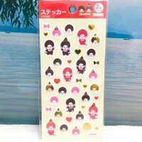929874 Monchhichi Sticker 17 x 9 cm (2 Sheets)  ~ JAPAN Limited ~