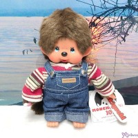 Monchhichi 30th Anniversary Knit Top & Jeans S Size Boy EX2581 ~RARE ~
