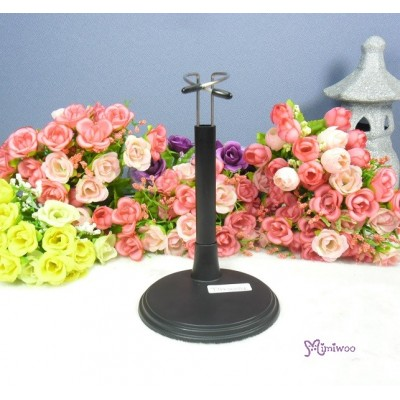 M Size MCC Plastic Base Doll Stand Holder TAX001BLK