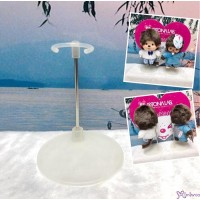 Monchhichi SS Size & Bebichhichi S Size Plastic Base Doll Stand Holder TAX005