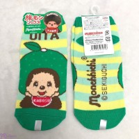 Monchhichi OITA Limited Cotton Adult Socks GREEN (Size 22-24cm) XA40-GRN