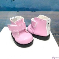 Yo SD OB Male 1/6 Bjd MCC S Size Doll Shoes Short Strapped Boots Pink YK10PNK