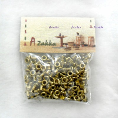 NDA035SXGLD DIY Crafts Metal Mini Eyelet 2mm Gold (300pcs)