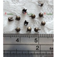NDA041CPR Doll Dress Making Tools Mini Round Rivet 2.5mm Copper