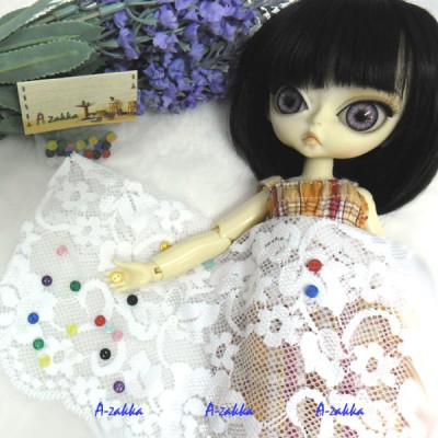 NDB009MIX Doll Dress High Quality Button Round 4mm Mix Color