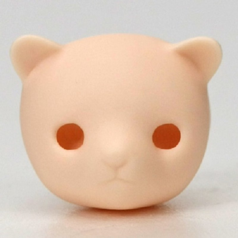 Obitsu 11cm Body Bjd Figure Doll Head 01 White Skin 11HD-D01W