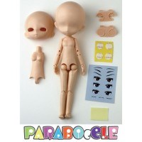 PB-ST-L PARABOcCLE 16cm Full Set Doll with Head and Eye (L Size Head)