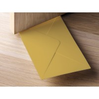 QL10151-BROWN QUALY Living Styles Door Stopper + Envelope Holder