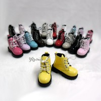 SHM049YEW MSD Bjd Obitsu 60cm Doll Boots High Hill Shoes Yellow