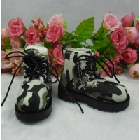 MSD Obitsu 60cm Doll High Hill Shoes Camouflage Green SHM077ARY