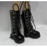 1/6 Bjd Neo B Doll Shoes Long Boots Black SHP007BLK