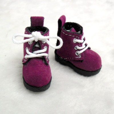 1/6 Bjd Neo B Doll Shoes Velvet Boots Cherry SHP187CHY