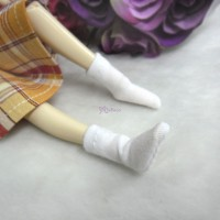 1/6 BJD Doll Short Socks White TPD118WHE