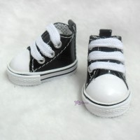 YK02BLK S Size MCC Doll Shoes Black