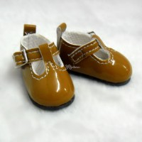 Yo-SD BJD Doll Maryjane School Shoes Brown SHU050LBN