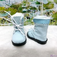 SHU072BLE Mimiwoo Yo-SD 1/6 bjd Leeke Doll Shoes Cloth Boots Blue