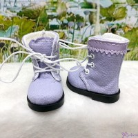 SHU072PUE Mimiwoo Yo-SD 1/6 bjd Doll Shoes Cloth Boots Purple