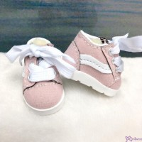 Yo SD 1/6 bjd Doll Shoes Sport Running Sneaker Pink (Foot 4.5cm) SHU083PNK