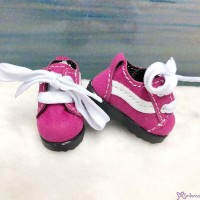 Yo SD 1/6 bjd Doll Shoes Sport Running Sneaker Cherry (Foot 4.5cm) SHU084CHY
