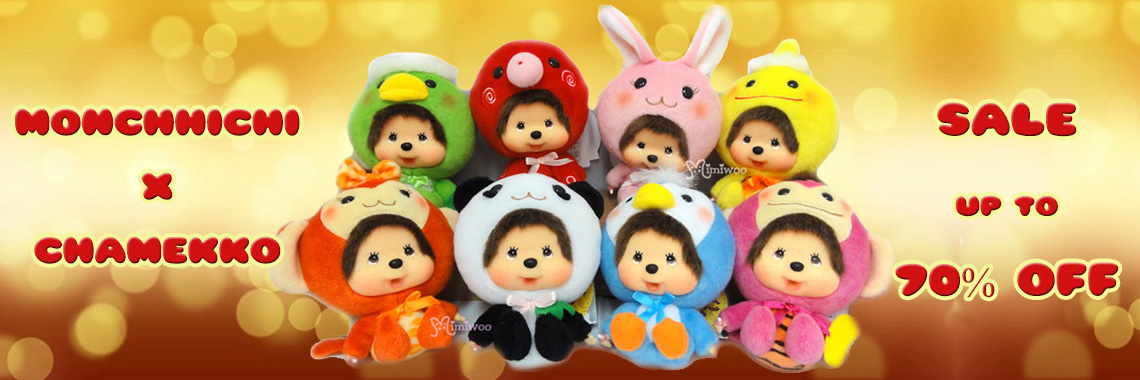 Big Head Monchhichi x Chamekko Plush – up to 70% OFF