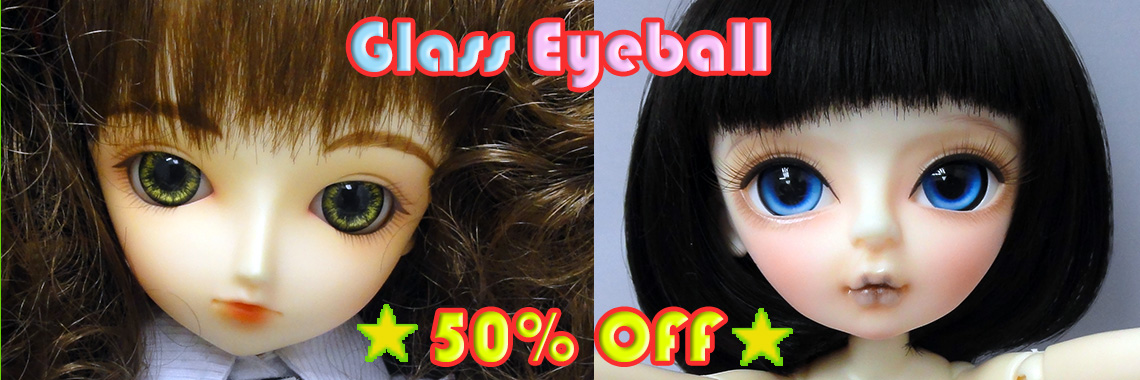 18mm Bling Red Color Eyes For BJD AOD DOD DOLL DOLLFIE Glass Eyes//Eyeball Outfit